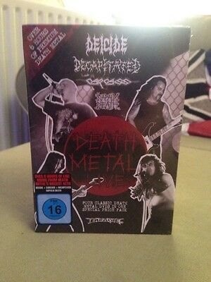 Deicide, Decapitated,carcass,napalm Death DVDs