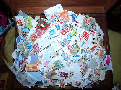 KILOWARE - 5Kg GB AND WORLDWIDE  STAMPS  /wwg.b/
