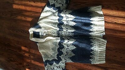Longhouse - mens 100% wool full zip sweater, made in Canada