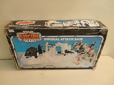 Star Wars Empire Strikes Back Imperial Attack Base #2 with Box