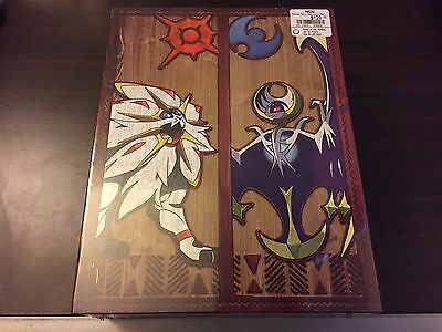NEW Pokemon Sun and Moon: Official Strategy Guide Collector's Vault Collectible