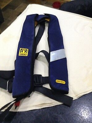 Crewsaver Automatic 150N Gas Inflate Adult Life Jacket Harness