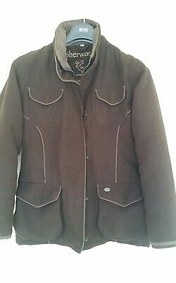 Waterproof and padded riding jacket - size 10