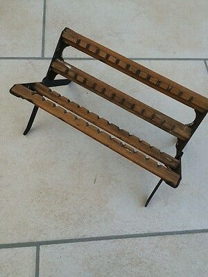 Antique Photographic Glass Plate Negative Wooden Drying Rack ENSIGN-VENTO