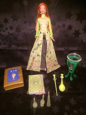 Rare Secret Spells Barbie Doll - Kayla In Original Outfit With Accessories