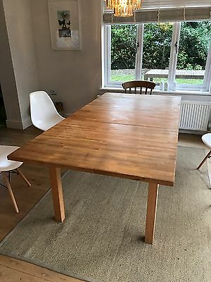 Ikea Extendable dining table Seats 6-10