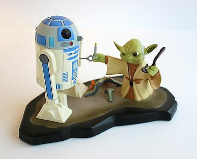 Gentle Giant Star Wars Animated Yoda & R2-D2