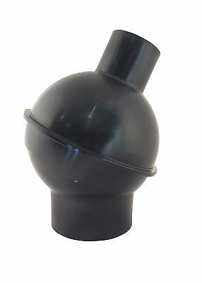 """Dust Collector 4"""" to 2.5"""" Swivel Elbow Reducer Fitting Flexible Hose 73476"""