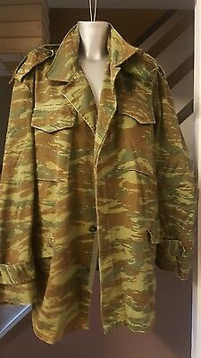 Mens Army  Camouflage Jacket Green/Brown Hooded