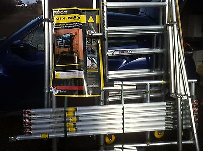Youngmans Mini Max Tower Scaffold, New and Never Used