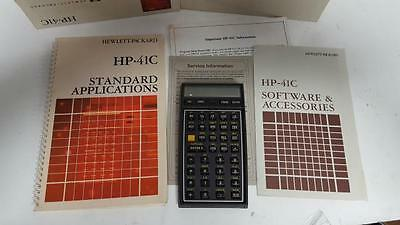HP HP-41C Hewelett-Packard Vintage Calculator As Is for Parts