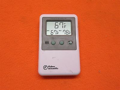 Fisher Scientific 06-664-11 Traceable Vaccine Thermometer *Tested Working