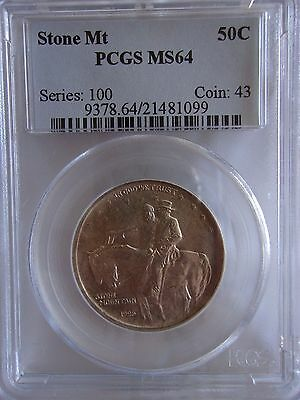 1925 PCGS MS64 Stone Mountain Commemorative