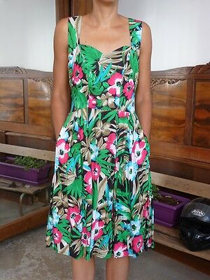Robe fleurie vintage 90s Taille 38