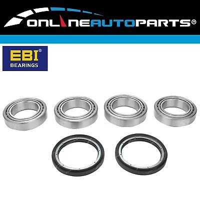 2 Front Wheel Bearing + Seal Kits Triton 4x4 Ute 1986-2006 ME MF MG MH MK MK 4wd
