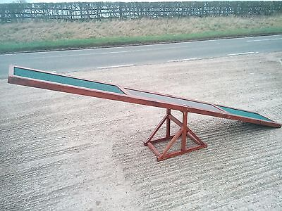 Wooden Dog Agility Seesaw Reinforced for large dogs