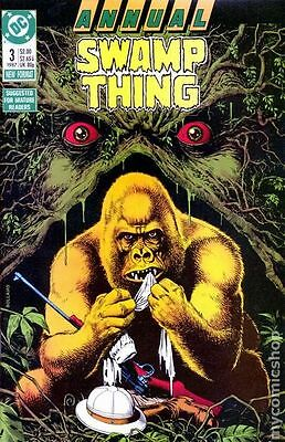 Swamp Thing (1982 2nd Series) Annual #3 FN