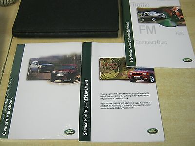 Land Rover Freelander 1997-2003 Owners Manual Handbook , New  Service Book