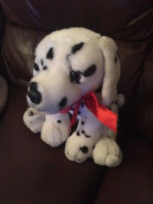 """Keel Plush Soft Toy, Dalmation dogToy, 12"""" High, Length 12"""" Approx"""
