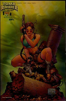Image/Top Cow TOMB RAIDER The Series #1 Chrome Cover NM/NM+ 9.4-9.6