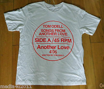Tom Odell Songs From Another Love Record Line Rare T Shirt Large Bnwt