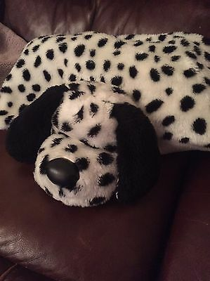 Pillow Pals  Soft Toy, And Throw, Dalmation Design