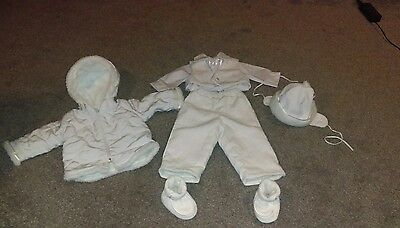 Christening boys baby outfit gown Baptism clothes