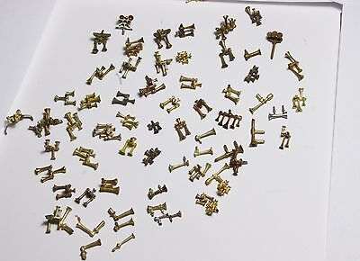 OMI, brass parts, lot of 147 parts Lot #2