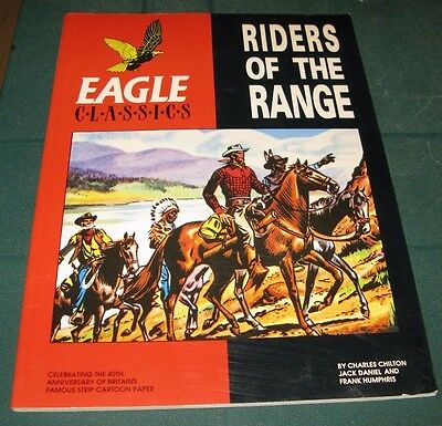 Eagle Classics Rider Of The Range Graphic Novel Hawk Books 1990 1St