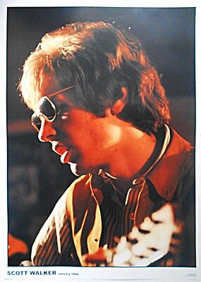 SCOTT WALKER Of The Walker Brothers, January 1966, 33 X 23 Inch Colour POSTER