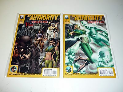 AUTHORITY WORLDS END #1 2 Wildstorm Comic Books Lot Run of 2 Issues NM-NM+