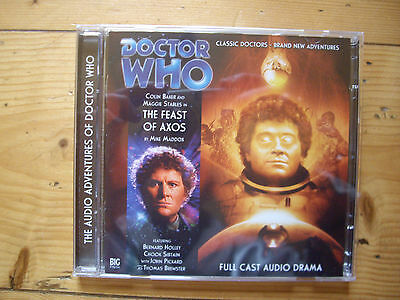 Doctor Who The Feast of Axos, 2011 Big Finish audio book CD