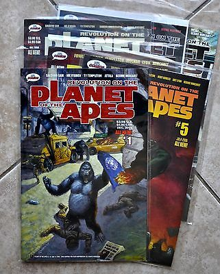 Lot Of Revolution On the Planet of the Apes