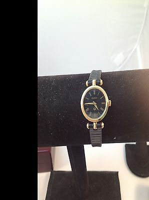 Authentic Vintage GUCCI Ladies'  Watch 18k gold plated Watch