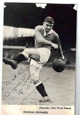 Duncan Edwards Manchester United F.c. And England