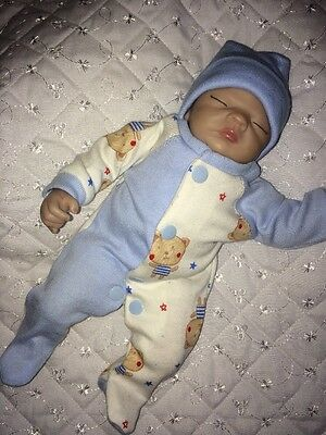 "Handmade Clothes  Sets Made To Fit Ashton Drake 10"" Reborn Ooak  Doll Sculpt"