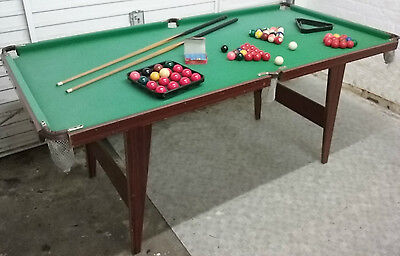 Snooker/ Pool Table (6ftx3ft) w/ Accessories, Good Used Condition
