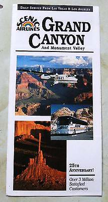 Scenic Airlines Grand Canyon and Monument Valley Brochure.