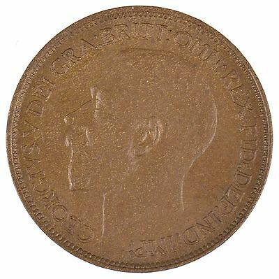 1912 Great Britain Half Penny King George V *8429