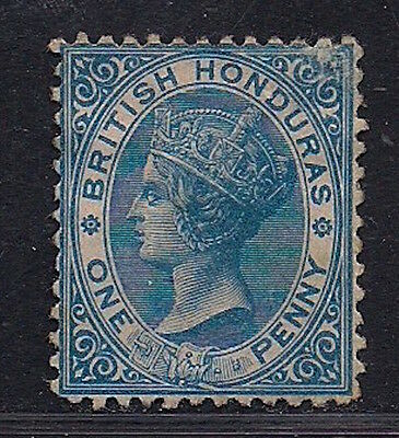 British Honduras stamps 1874 QV 1d blue CC (SG6) Mint £110 / $125