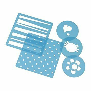 Ikea Drommar Stencil Set Of 5 Ideal For Cake Baking Decoration