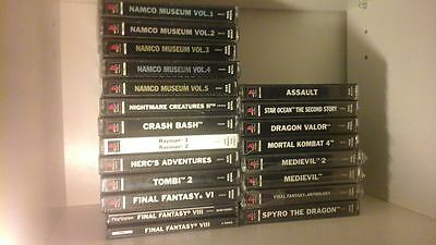 Lot ps1 - playstation 1 - tous complet