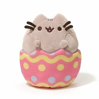 Gund PUSHEEN  Easter Egg Plush 6 x 4.25 Cat Character Limited Stuffed Plush Toy