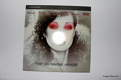 """Unyque - Keep On Making Me High (12"""" Vinyl,45rpm,1970s) - S012-3"""