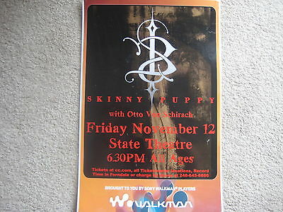 Skinny Puppy Poster Laminated