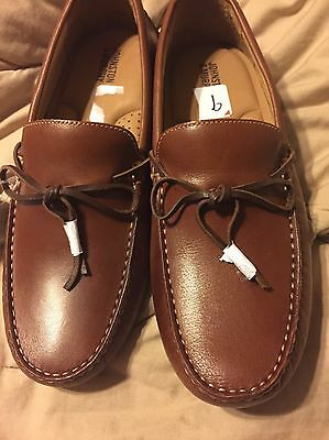 Men's new Johnston Murphy 9 Loafer Brown Leather