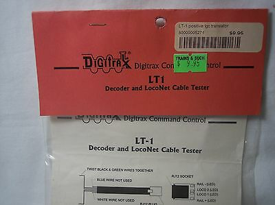 Digitrax - Decoder & LocoNet Cable Tester