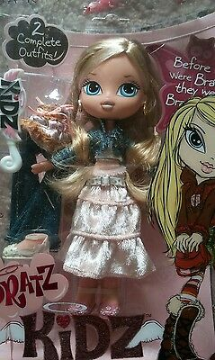 BRATZ KIDZ Doll CLOE w 2 complete outfits NEW in package