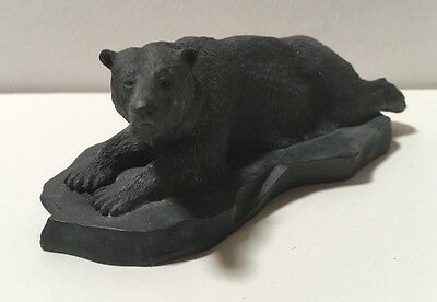 Franklin Mint Wildlife of North America Pewter Figurine - Polar Bear