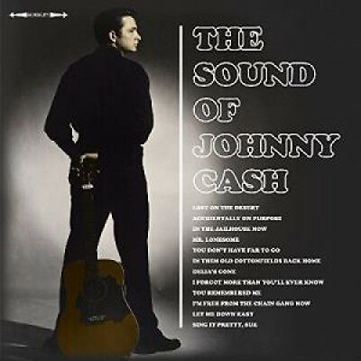 JOHNNY CASH The Sound Of Johnny Cash LP VINYL European Not Now 2016 12 Track